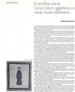testo di Achille-Bonito-Oliva