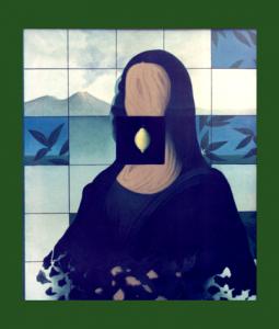 Il VERBO Madonna di Castello Olio su tela70X60  1986