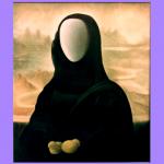 PATAFISICA Madonna delle Galline Olio su tela 70X60  1986