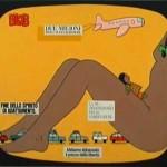 BLOB 1995 acrilico su tela 80x100