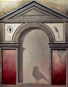 DEMETER tecnica mista su tela  80x100  1994
