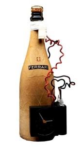 AUGURI  assemblaggio su bottiglia